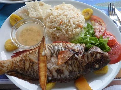 cuisine de la guadeloupe poisson grille cuisine creole guadeloupe delicious