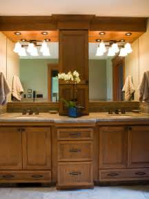 Master Bathroom Vanities Ideas Wooden Vanity In Transitional Bathroom Hgtv