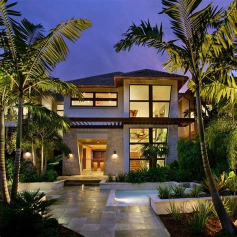 harmonious tropical style house plans best 25 tropical house design ideas on