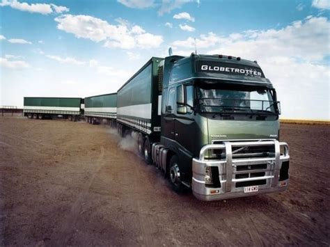 volvo australia trucks road train in australia volvo trucks trucks cabover