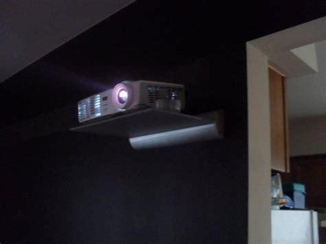 hand  custom projector shelf  steeldesign