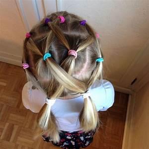 Coiffure Facile Pour Petite Fille : ne perdez pas le fil coiffures apolline pinterest coiffure facile coiffures faciles ~ Nature-et-papiers.com Idées de Décoration