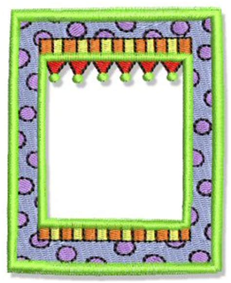 machine embroidery designs fun frames  borders bunnycup embroidery