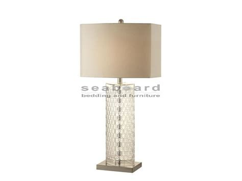 Coaster 901556 Contemporary Clear Glass Table Lamp
