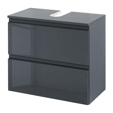 Badezimmer Waschbeckenunterschrank Grau by Waschbeckenunterschrank Grau Hochglanz