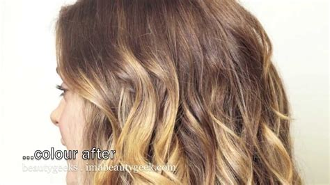 baby ombre  step  step diy ballyage highlights youtube