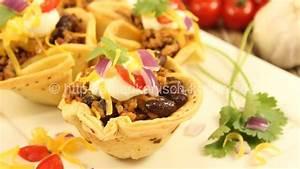 Taco Cupcakes auch vegetarisch möglich amerikanisch
