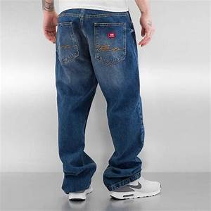 Jeans Auf Rechnung : ecko unltd fat bro baggy jeans blue online hip hop fashion store ~ Themetempest.com Abrechnung