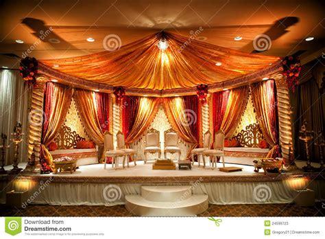 indian wedding mandap stock  image