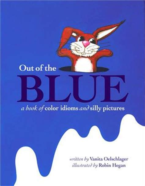 blue  book  color idioms  silly pictures  vanita oelschlager