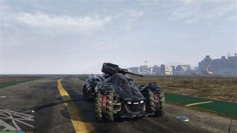 Gta V Gets The Best Batmobile Yet