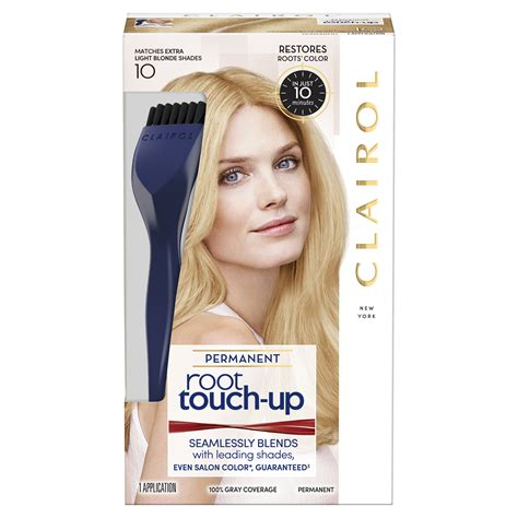 hair color root touch up clairol root touch up permanent hair color 10 light