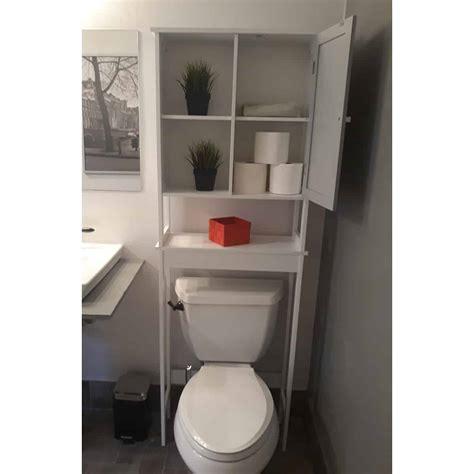 custom diy bathroom   toilet space saver cabinet