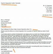 Teacher Resignation Letter Example 11 Teacher Resignation Letter Templates Free Sample Sample Resignation Letter Example 10 Free Documents Sample Teacher Letter Of Resignation Sample Letter With