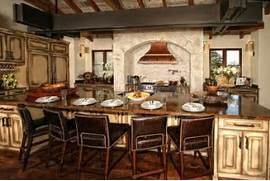 Eclectic Spanish Style Lake House Rustic Kitchen Austin Kitchen Islands Eat At Kitchen Island Discount Kitchen Island Free Kitchen Ideas Over Kitchen Pertaining To Pendant Lights Over Island Kitchen Interesting Buy Online Kitchen Cabinets In Your Room View