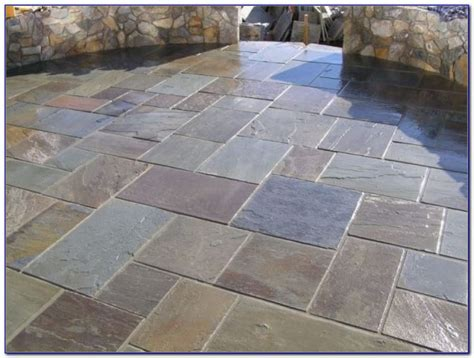 laying slate slabs blue slate stone patio patios home design ideas wj9lmrw7gd
