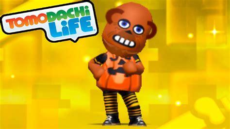 tomodachi life ds  halloween pumpkin suit spotpass