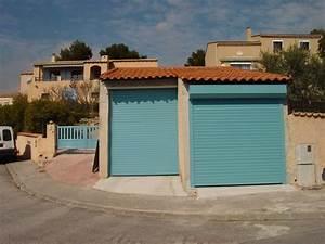 porte de garage enroulable en aluminum installation sur With porte de garage enroulable et systà me coulissant pour porte