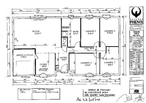 plan maison moderne 3 chambres plan de maison 100m2 3 chambres