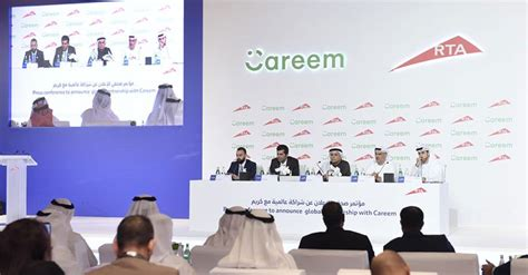 Dubai's Rta And Careem To Launch Joint Taxi Service
