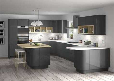 grey floor white kitchen white and grey kitchen designs brown laminate wooden floor 4062