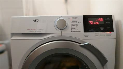 Aeg Lavamat L6fb67490 Frontlader Waschmaschine 6000 Series