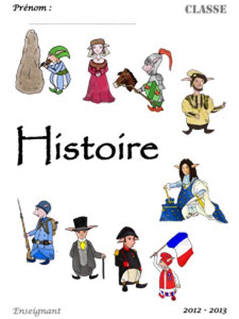 page de garde d histoire