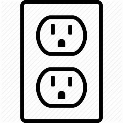 Outlet Icon Power Plug Socket Wall Ac