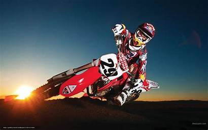 Motocross Bull Racing Honda Wallpapers Motorcycle Andrew