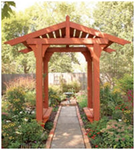 arbor building designs  woodworking project