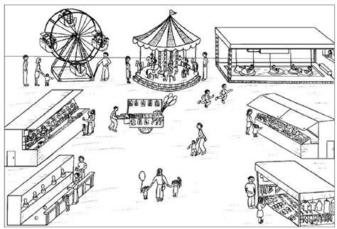 Varias series de juegos mecánicos infantiles, juegos mecánicos de monedas, juegos inflables para parques infantiles, centros comerciales, fiestas y patio trasero. DIBUJOS DE LUGARES PARA COLOREAR