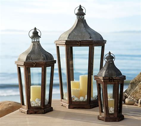 pottery barn outdoor lanterns park hill lantern pottery barn