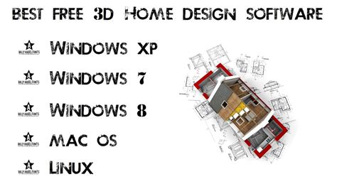 3d Home Design Software List by 3d Home Design Software Free Windows Xp 7 8 Mac