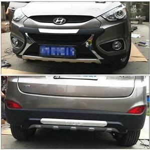 Hyundai La Garde : protecteur d 39 accessoires de voiture de hyundai ix35 avant et garde de pare chocs arri re de butoir ~ Medecine-chirurgie-esthetiques.com Avis de Voitures