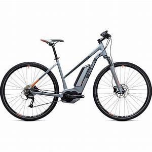 E Bike Damen Günstig : cube cross hybrid one 400 damen e bike 2017 grey ~ Jslefanu.com Haus und Dekorationen