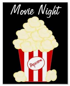 Movie-Themed Home Theater Decorating Ideas Signs by Andrea