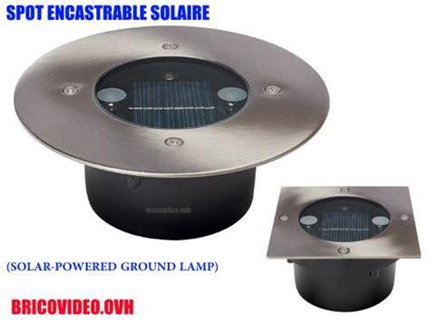 Projecteur Solaire Encastrable Lidl Livarno Lux Spot De