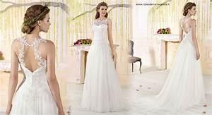 Robes De Mariée Bohème Chic : robes glamours pour mariages chics ~ Nature-et-papiers.com Idées de Décoration