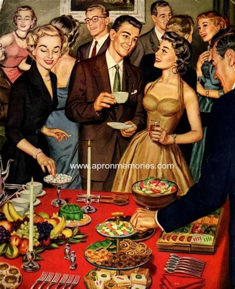 1950s And 60s Dinner Parties  Google Search Cocktails