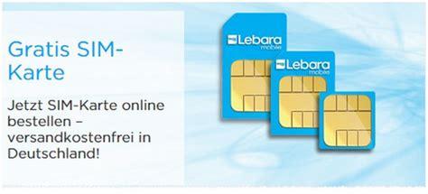 lebara sim karte kostenlos im onlineshop bestellen