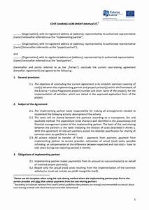 Beautiful stock of revenue sharing agreement business for Profit share agreement template