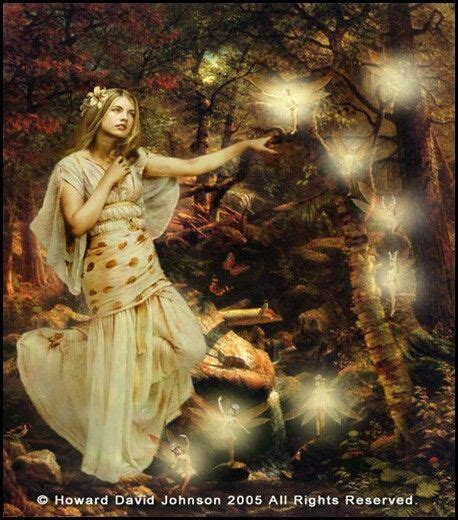 damara celtic myth goddess  fairy princess