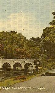 Crana River & Castle Bridge, Buncrana, Donegal, Ireland ...