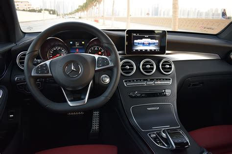 mercedes benz glc  coupe  review uae yallamotor