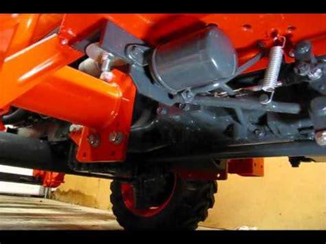 kubota  hst  hour service part  transmission oilfilter change youtube