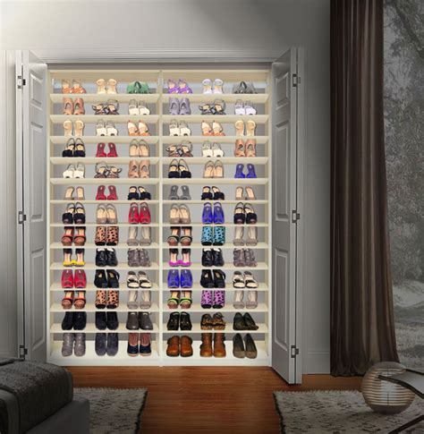 shoe organizer for closet isa custom shoe closet module shoe storage