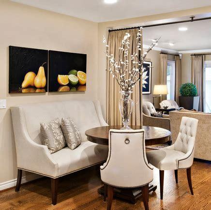 create  stylish dining nook   settee settee