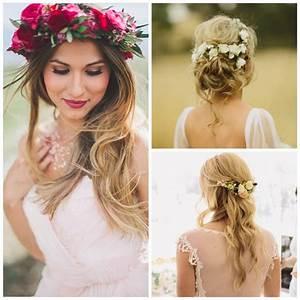 Couronne De Fleurs Cheveux Mariage : coiffure mariage fleur cheveux bon plan coiffure arnoult coiffure ~ Farleysfitness.com Idées de Décoration