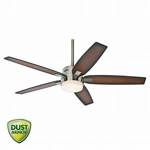 Hunter windemere brushed nickel quot ceiling fan