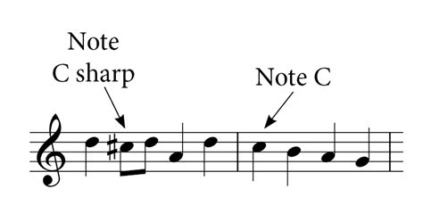 Accidental, in music, sign placed immediately to the left of (or above) a note to show that the note.a sharp () raises a note by a semitone; How Accidentals Work in Music | Do Re Mi Studios